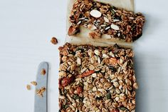 Nutty Grain and Oat Bars / Ditte Isager