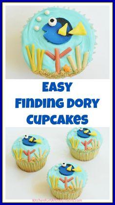 Cupcake Decorating Ideas Fish cupcakes Fish and Birthdays