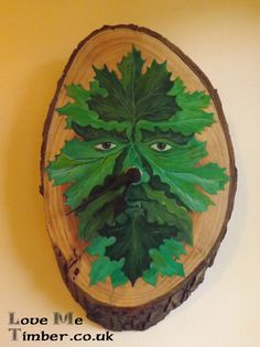 Really please with this piece, The Green man clock. A collaboration with us and a local artist, now available on our web site.