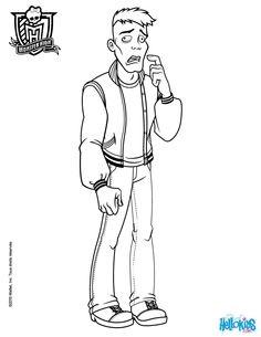 Moe Slow Moe Deadovitch coloring page