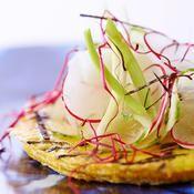 Omelette aux algues Nori - une recette Végétarien