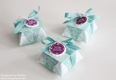 Stampin Up Goodie Gastgeschenke Box Tuete Verpackung Schachtel 033 - für Rocher mit Tutorial