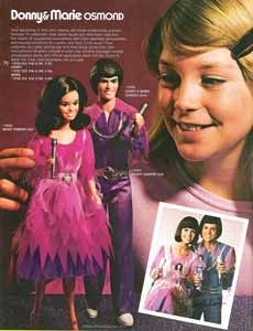 Donny & Marie dolls.  I had blue outfits for them too.  :)
