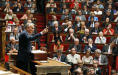 Months After Banning Fracking, France Now Has A Carbon Tax Raising $5.5 BILLION | ThinkProgressFrench Prime Minister Jean-Marc Ayrault, delivers a speech to the new Socialist-dominated parliament,  at the national Assembly in Paris.