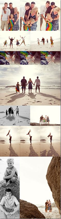 How to Get Great Family Holiday Snaps   Planning on visiting the beach and taking some family portraits? In this article Geoff Harris give his 5 top Tips for Posing Family Beach Vacation Portraits