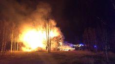 Brann i bofellesskap  ingen personskade - NRK