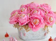 Valentine Rose Lollipops - CreativeMeInspiredYou.com