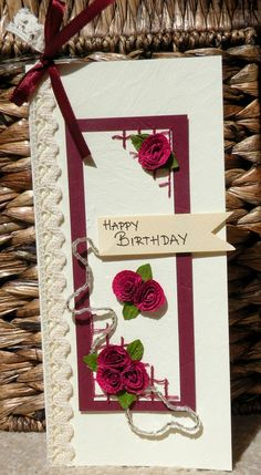 Handmade card   Birthday card   With love card by TheRainbowCrafts, €4.00