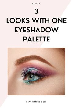 Here are 3 summery eyeshadow looks I've made with just one palette. The palette I used for this post is the Natasha Denona Sunset palette because the color scheme of this palette reminds me of summer. Let me show you the looks I've created!