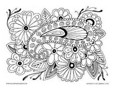 free cat coloring pages for adults yahoo image search results