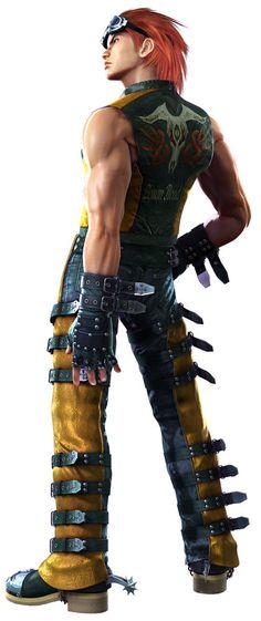 My favorite character in Tekken, Hwoarang All Video Games, Video Game Anime, Video Game Characters, Video Game Art, Game Character Design, Character Art, Character Creation, Street Fighter Tekken, Tekken 7