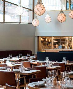 Bronda Restaurant Decor Inspired by Scandinavian Sea Coast bronda new fine dining restaurant