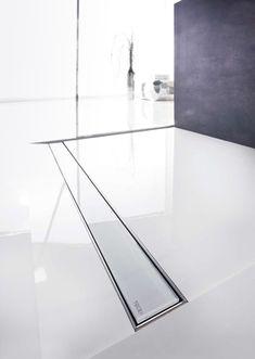 TECEdrainline Duschrinne Glas