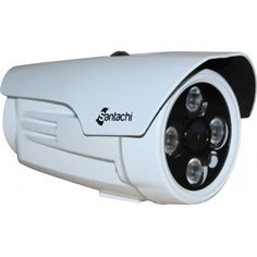 """Analog Bullet IR Cameras SAN61000BAZ (Lmited Stock):  Key Features: ■Image Sensor:1/3"""" CMOS ■Resolution:1000 TVL ■Lens:3.6 mm Lens ■IR Range up to 30 meters ■IR LEDs Unit:4 High Power Array LEDs ■OSD: Supported ■Weather ProofStandard: IP 66 ■Power: DC 12V ±10% Max. 2.5A"""