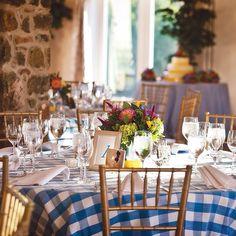 BBQ wedding table cloth