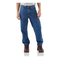 Carhartt denim jeans from ALL USA Clothing.  100% Made in America.
