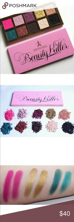 Beauty killer jeffree star  *pre order* Shipping takes 4-7 days!! Insp. Beauty killer eyeshadow palate by jeffree star jeffree star Makeup Eyeshadow