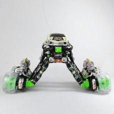 New 1:18 R/C Dance to Music Simulation Stunt Flip 360 Spin Somersault 4WD Eddy Drift Car