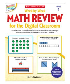 Look what I found on #zulily! Math Review for the Digital Classroom: Grade 1 Paperback Set by Scholastic Teaching Resources #zulilyfinds