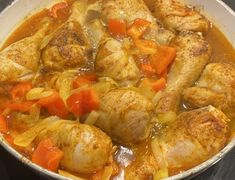 Udka z kurczaka po węgiersku - Blog z apetytem