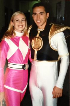 Photo of Mighty Morphin for fans of TomKat 35290073 Catherine Sutherland, Jason David Frank, Power Rengers, Tommy Oliver, Character Personality, Go Go Power Rangers, Mighty Morphin Power Rangers, Cosplay, Female