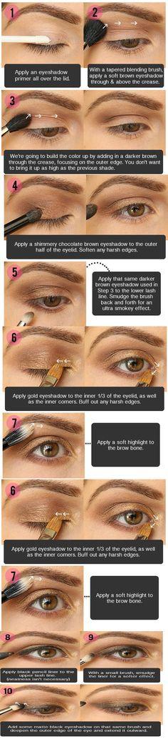 10 Tips Smokey Eye Makeup For Brown Eyes