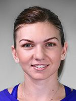 """Simona Halep Residence: Constanta, Romania Date of Birth: 27 Sep 1991 Birthplace: Constanta, Romania Height: 5' 6"""" (1.68 m) Weight: 132 lbs. (60 kg) Plays: Right-handed (two-handed backhand) Status: Pro (2006)"""