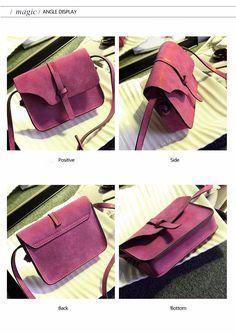 9cd9d75b95 bolish 2017 fashion women s handbag bag small crossbody bags vintage spring  women shoulder bag nubuck leather