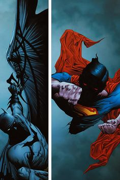 Batman and Superman by Jae Lee