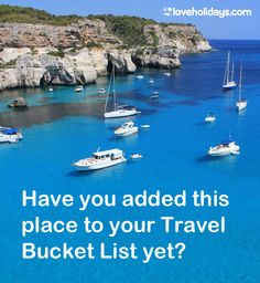 Click to reveal the destination, plus 5 reasons it should be on your Travel #BucketList! >> Us Travel, Places To Travel, Majorca, Beautiful Islands, Holiday Destinations, Ibiza, Travel Inspiration, Traveling By Yourself, Beach