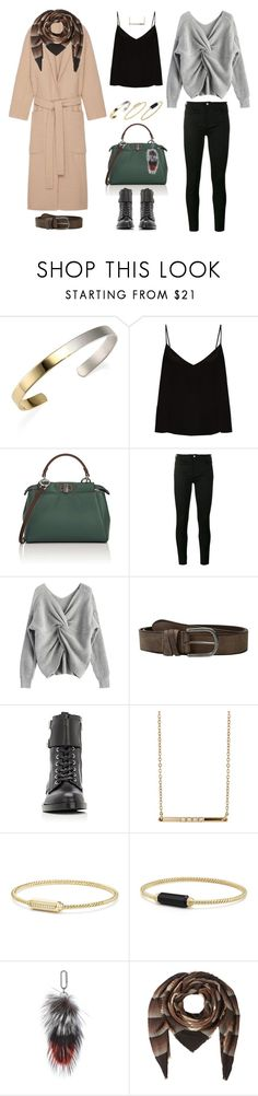"""Без названия #119"" by kmarina ❤ liked on Polyvore featuring Stephanie Kantis, Raey, Fendi, Gucci, Amsterdam Heritage, Gianvito Rossi, Loren Stewart, David Yurman, Amanda Wakeley and Faliero Sarti"