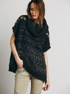 Free People Fairisle Maiden Cowl Neck at Free People Clothing Boutique