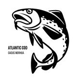 Collection Of Creative Vector Black Fish Icons On White Background Royalty Free Cliparts, Vectors, And Stock Illustration. Image 38608882. Fish Vector, Vector Art, Modern Graphic Design, Graphic Design Typography, Iphone 5c Wallpaper, Atlantic Cod, Fish Icon, Cod Fish, Fabric Wall Art