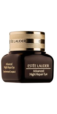 Estée Lauder Advanced Night Repair Eye Cream Synchronized Complex II: Another multifaceted eye cream, this jar comes from the brand's famous Night Repair collection. BTW, nine bottles of the serum in the line sells every minute! This formula, however, is all about the skin under your eyes, working to defeat dark circles, dullness, lines, and more.