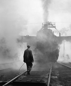 the railroads   My grandfather was an engineer in the early 20th Century locomotives. His brother was also and unfortunately died when a steam engine blew up. Heritage in railroads and hours playing in the old railroad roundhouse in empty cars and caboose...imagining!