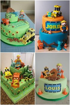 Bob The Builder Cake Decorating Kit Party