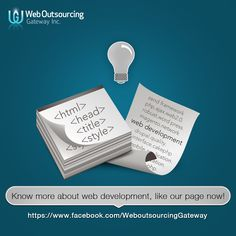 Know more about web development. Connect with us! #WOGinc #WebDevelopment