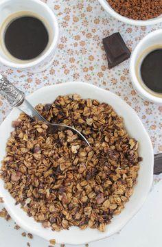 Nem acredito que é saudável!: Granola de café . Coffee Granola