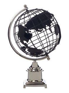 Oversized globe ornament