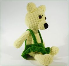 Check out this item in my Etsy shop https://www.etsy.com/listing/521281383/lilly-crochet-bear-stuffed-toy-plushie