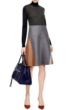 Wool-Blend A-Line Skirt by Derek Lam - Moda Operandi