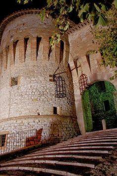 Corciano Castle Italia province of Perugia , Umbria