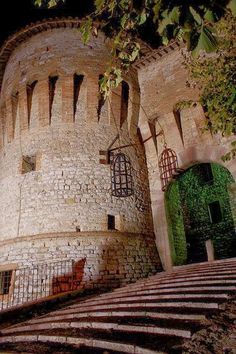 Corciano Castle, Province of Perugia, Umbria, Italy