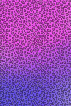 pink and purple ombré cheetah print