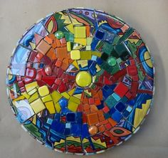 Special Class: Mosaic Stepping Stone - June 2013 - Los Osos/SLO Crafters Meetup Group (Los Osos, CA) - Meetup