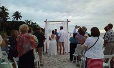 5th Ave Beach Wedding!
