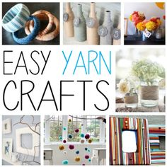 Crafts To Use Yarn – Without Knitting Or Crocheting