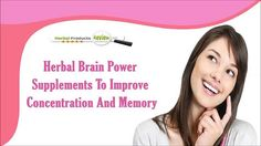 You can find more about herbal brain power supplements at  http://www.herbalproductsreview.com/memory-supplements-reviews.htm  Dear friend, in this video we are going to discuss about herbal brain power supplements. Brahmpushpi capsules are the herbal brain power supplements to improve concentration and memory naturally.  If you liked this video, then please subscribe to our YouTube Channel to get updates of other useful health video tutorials.   Herbal Brain Power Supplements