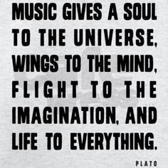 Don't you agree with this? Music truly is a such an important aspect of life! And it will also enhance your wedding and event in such a great way as well.  Let's begin planning your wedding music: http://www.philadelphiaquartet.com/  #psq #music #musicinspiration #wedding #weddingmusic  Photo Source: https://s-media-cache-ak0.pinimg.com/236x/d2/e5/af/d2e5af01f74e3dc12d36c806f54d3606.jpg