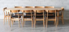 Danish oak dining suite - The Vintage Shop